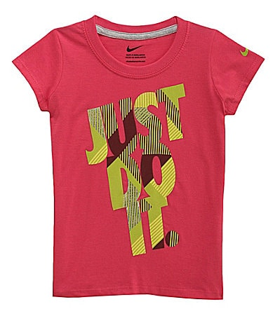 Nike 4-6X Just Do It Screenprint Tee