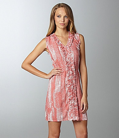 THML Ruffle-Trim Dress