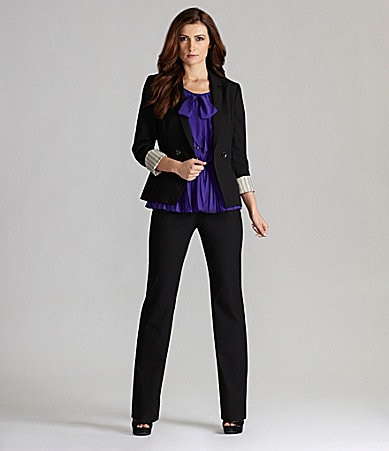 Gianni Bini Erica Jacket, Laura Blouse & Talitha Pants
