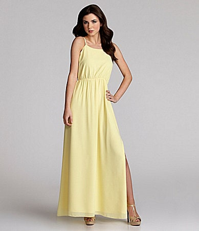 MM Couture by Miss Me Pastel Maxi Dress
