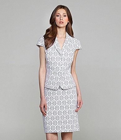Tahari by ASL 2-Piece Skirted Suit