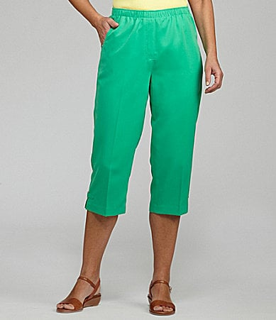 Allison Daley II Pull-On Capri Pants