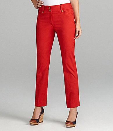 Jones New York Signature Slim Ankle Pants