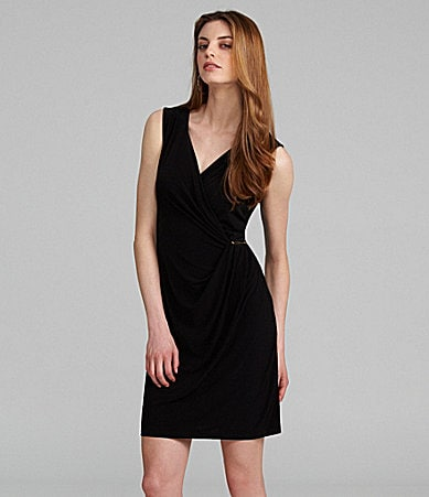 Calvin Klein Sleeveless Jersey Dress