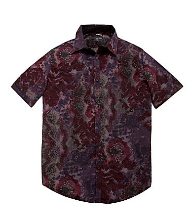 Murano Fitted Ultimate Modern Comfort Printed Sportshirt