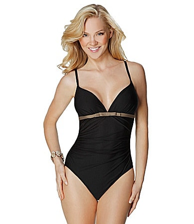 Eco Swim Eco Basics Camisole One-Piece Swimsuit