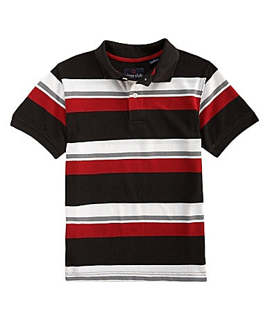 Class Club 8-20 Bar Stripe Polo Shirt