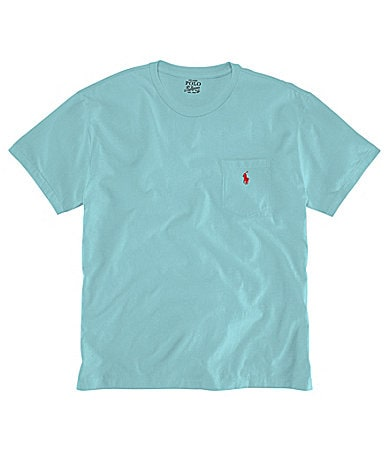 Polo Ralph Lauren Big & Tall Cotton Pocket Tee
