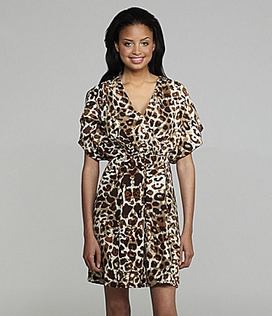 Calvin Klein Animal Print Dress