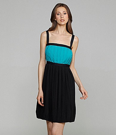 Calvin Klein Sleeveless Colorblock Dress