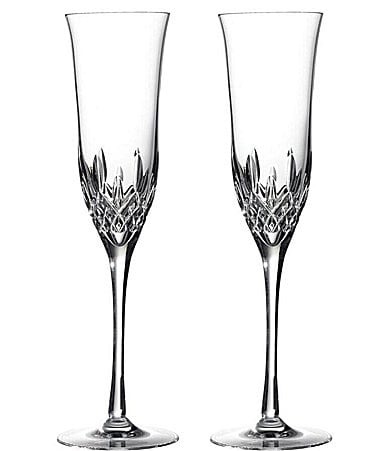Waterford Lismore 60th Anniversary Collection Lismore Essence Flute Pair
