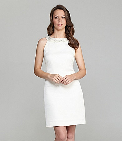 Tahari Beaded Dress