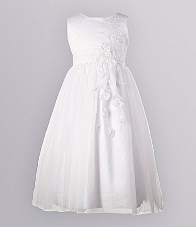 Jayne Copeland 2T-6X Satin Tulle Dress