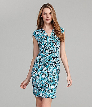 MICHAEL Michael Kors Printed Matte Jersey Dress