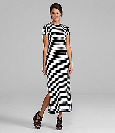 MICHAEL Michael Kors Striped Maxidress