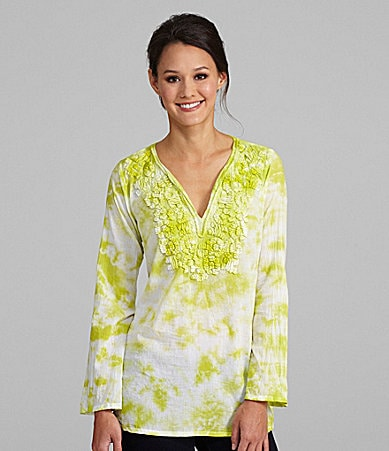 MICHAEL Michael Kors Embroidered Tunic