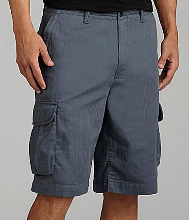 Caribbean Cotton Cargo Shorts