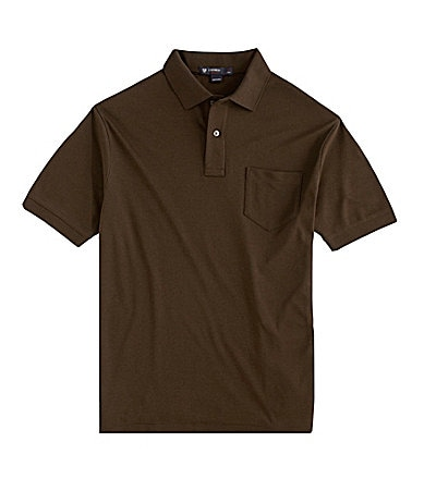 Cremieux Solid Interlock Polo
