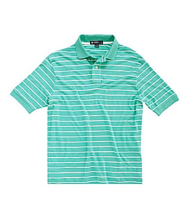 Cremieux Striped Polo