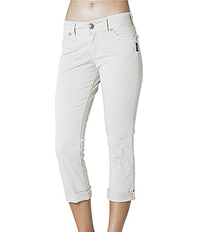 Silver Jeans Co. Suki Capri Pants