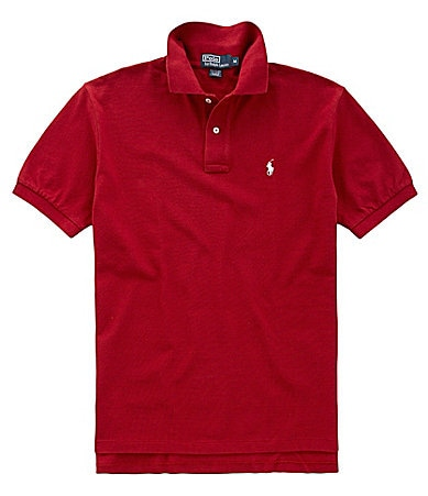 Polo Ralph Lauren Collegiate Mesh Knit Polo Shirt