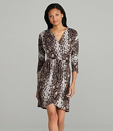 MICHAEL Michael Kors Snake-Print Dress