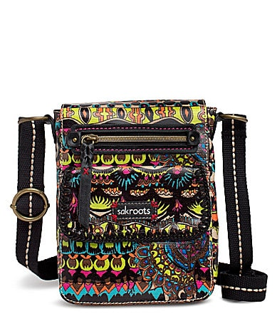 Sakroots Artist Circle Small Messenger Bag