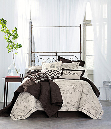 Noble Excellence Monogram Bedding Collection