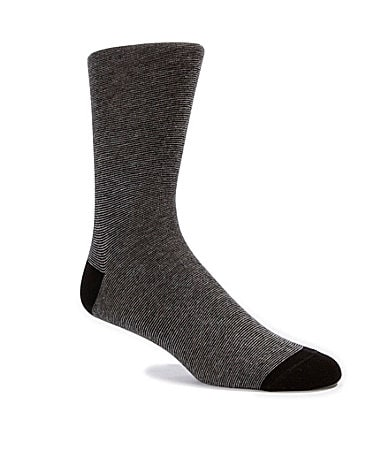 Cremieux Mini-Striped Dress Socks