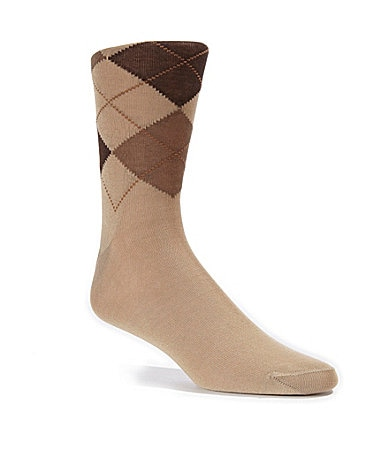 Cremieux Cotton Argyle Dress Socks