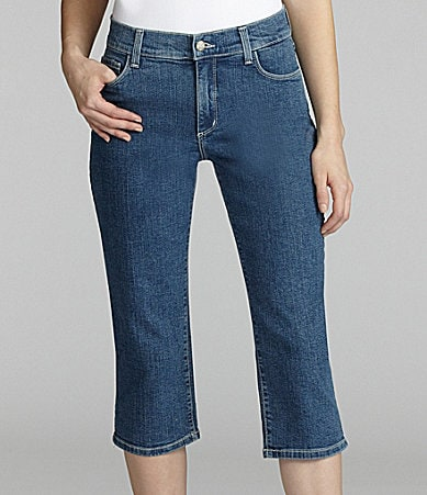 Not Your Daughter�s Jeans Embellished Capri Pants