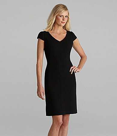Tahari by ASL Crepe Dress
