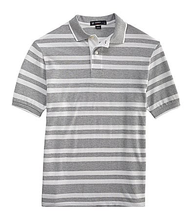 Cremieux Cotton Striped Polo Shirt