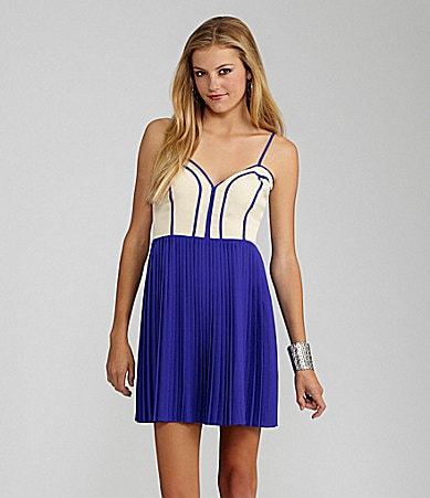 GB Pleated Dress