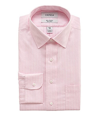Cremieux Tonal-Striped Dobby Dress Shirt