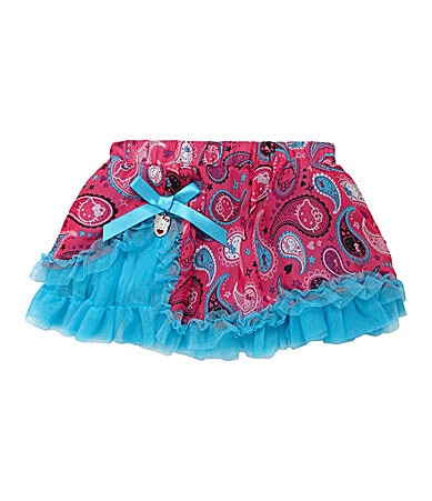 Hello Kitty 2T-6X Printed Tutu Skirt