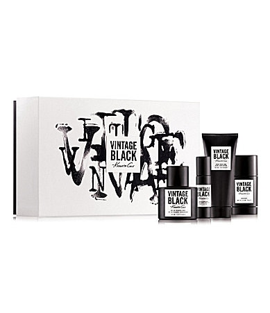 Kenneth Cole Vintage Black Gift Set