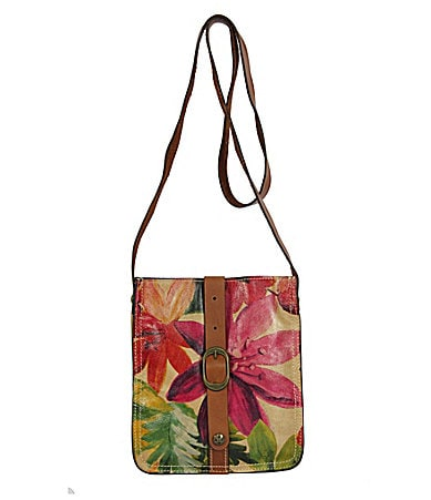 Patricia Nash Leather Multi Venezia Cross-Body Bag