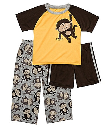 Carter's Toddler 3-Piece Monkey Pajama Set