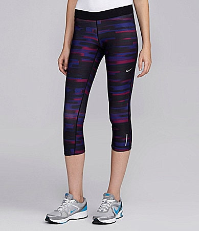 Nike Relay Print Capri Running Pants