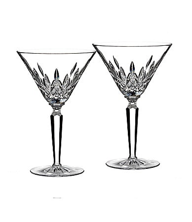 Waterford Lismore 60th Anniversary Collection Classic Lismore Cocktail Glass Pair