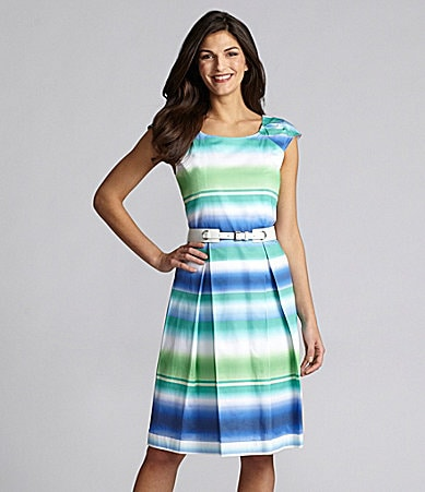 Alex Marie Gloria Striped Dress
