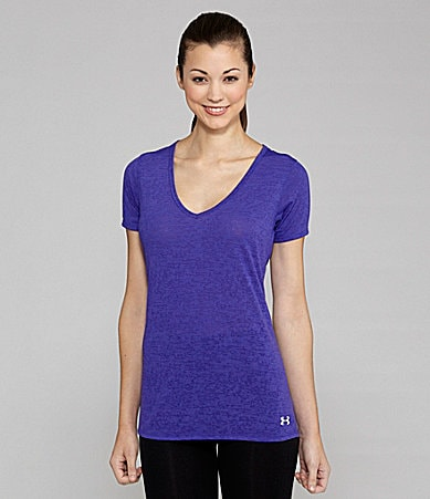 Under Armour Achieve Burnout Workout Tee