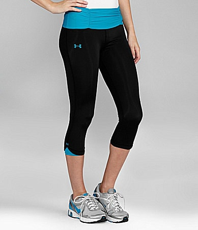 Under Armour Perfect Shatter Workout Capri Pants