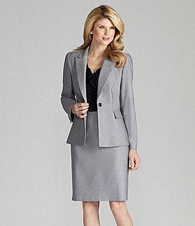 Antonio Melani Odette Jacket, Isla Knit Top, & Berta Skirt
