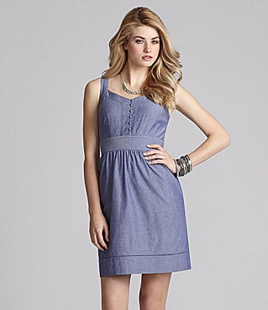 Cremieux Lilia Chambray Dress