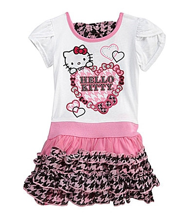 Hello Kitty 2T-6X Tutu Dress