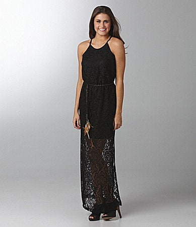 B. Darlin Lace Maxi Dress