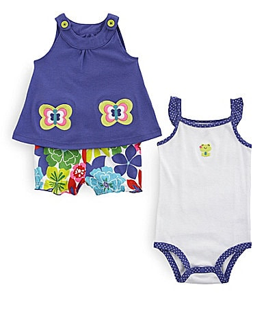 Carter�s Infant Butterfly Swing Top Set