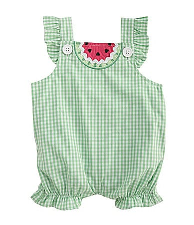Starting Out Newborn Woven Watermelon Bodysuit